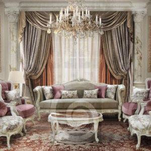 طقم فرنساوى - غرفة معيشة