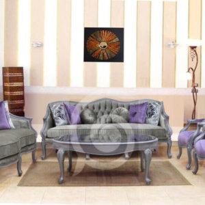 طقم لافندر - غرفة معيشة